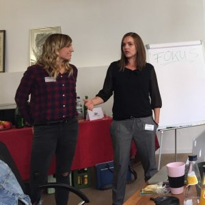 Blogmarketing Workshop Speakerinnen Juli und Kerstin