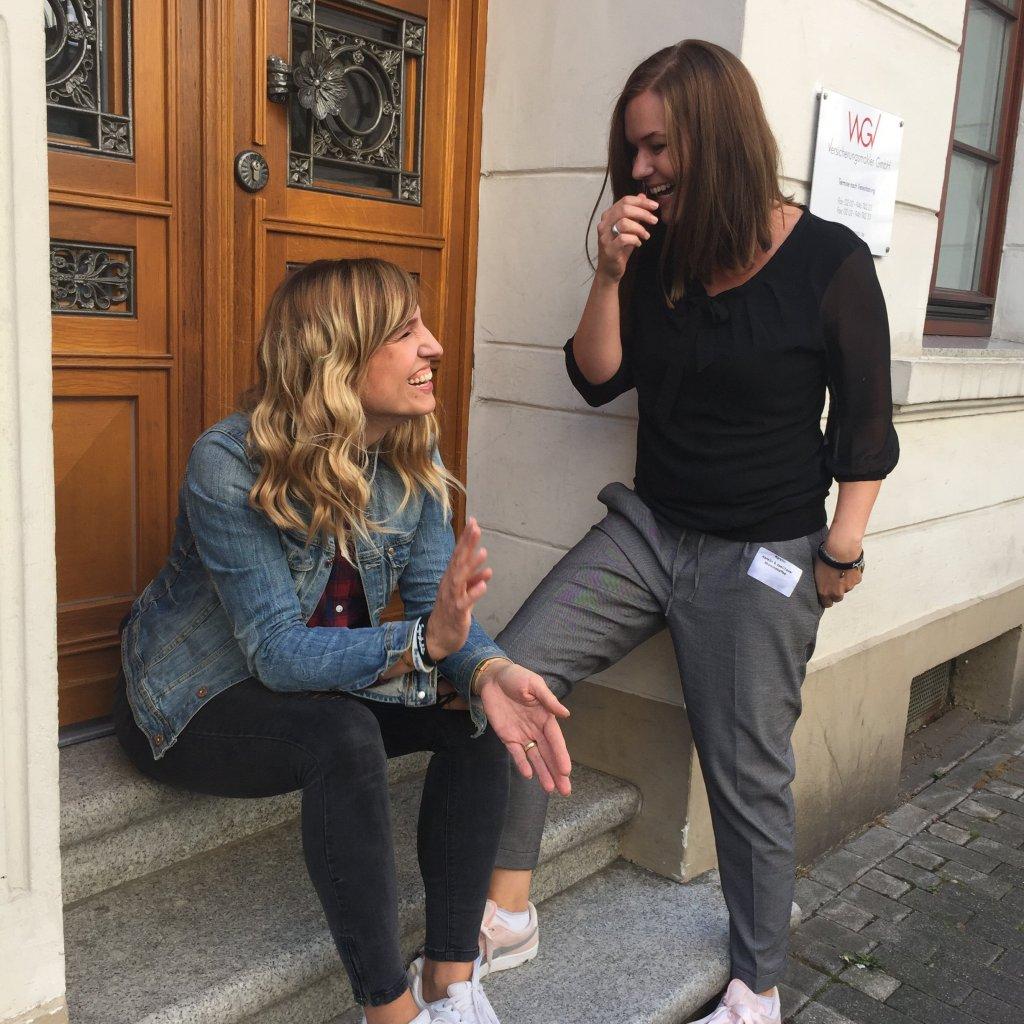 Juli Scharno und Kerstin Neumann - Referentinnen auf der Wubttika 2018 - Social Media und Blog Marketing