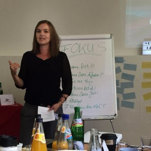Workshop: fokussiertes Blogmarketing / Speakerin Kerstin Neumann